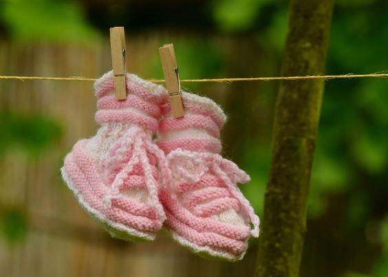 schuhe mit faeden selber dekorieren, baby-geschenke selber machen – do it yourself!, Design ideen