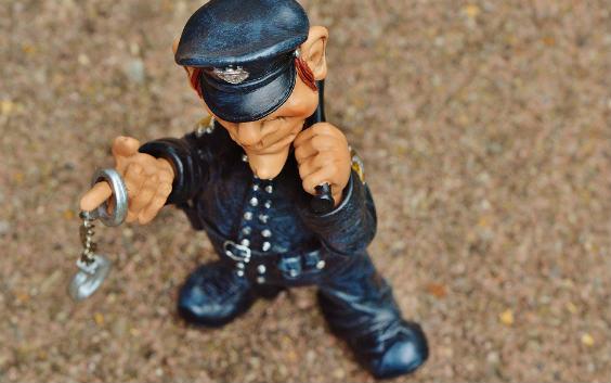 polizist figur 564