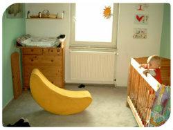 Viel braucht Baby nicht für die Möbel-Erstausstattung
