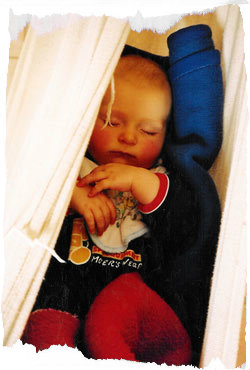 Die Babydecke ist ein sinnvolles Utensil