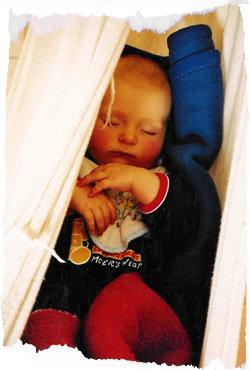 Ein Babyschlafsack ist sehr zu empfehlen