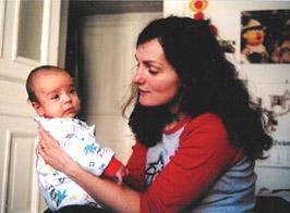 Wenn Babys Bauch sich bläht, will Mama helfen