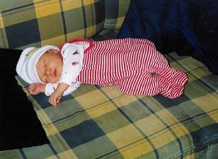 Auflistung der Babygrößen - damit alles passt