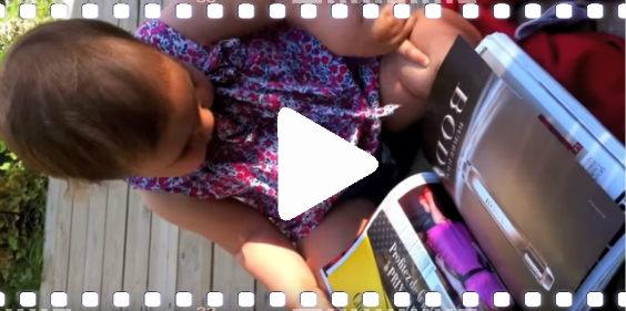 video baby daumen 564