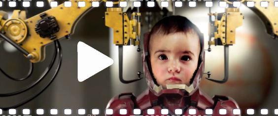 video baby iron 564